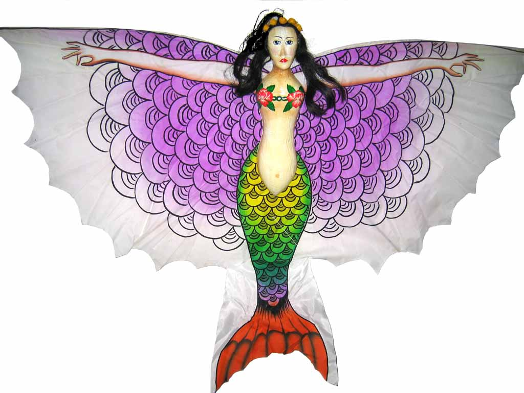 Kites international arts crafts for Mermaid arts and crafts